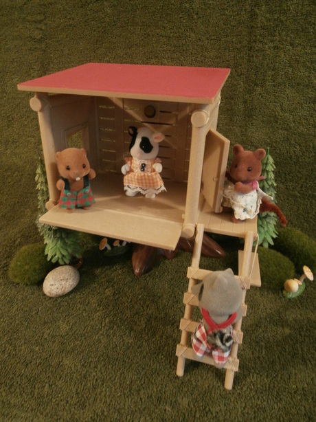Funtime Treehouse Sylvanian Haven